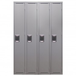 1 Tier Lockers