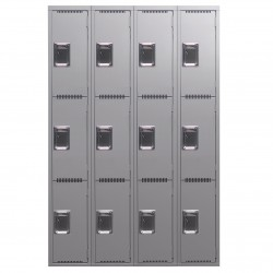 3 Tier Lockers