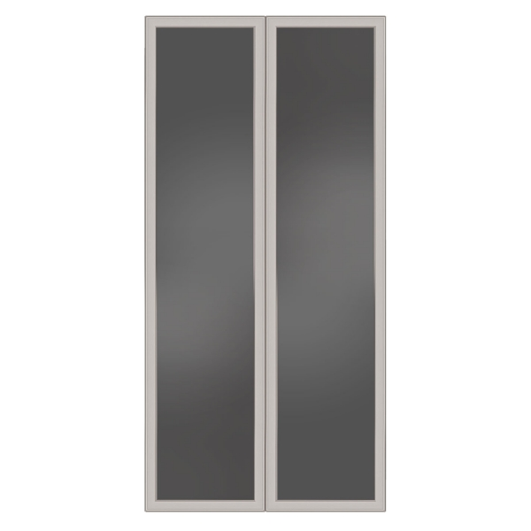 TC - Glass doors 17.3 W x 66 H (Set of 2)