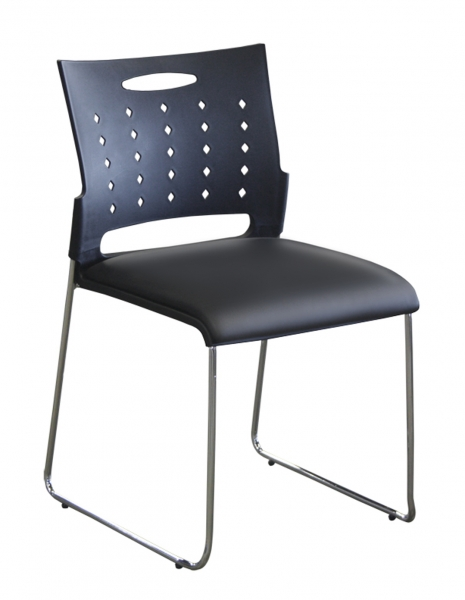 TECHNIK Stacking Chair (Vinyl Seat)