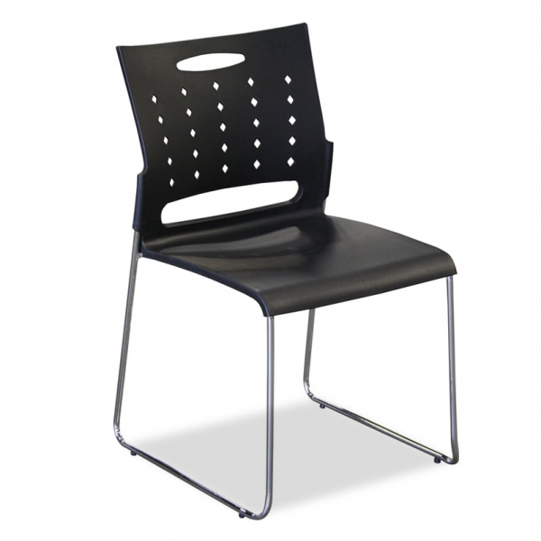 TECHNIK Stacking Chair (Plastic Seat)