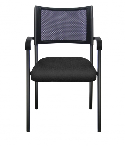 KALOR Stacking Chair -Fabric Seat (with arms)