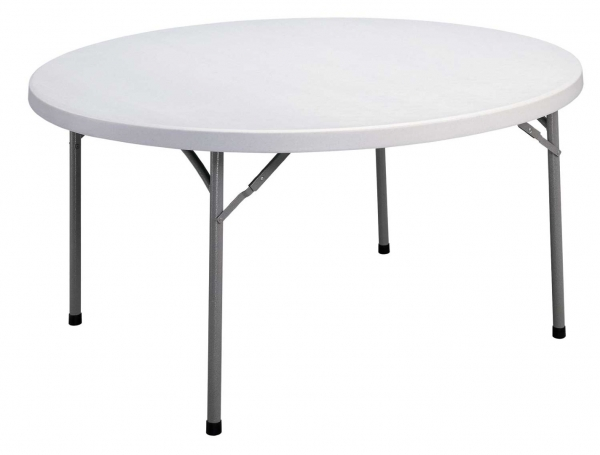 "TUFFMAXX GRANITE 60"" Round Folding Table"