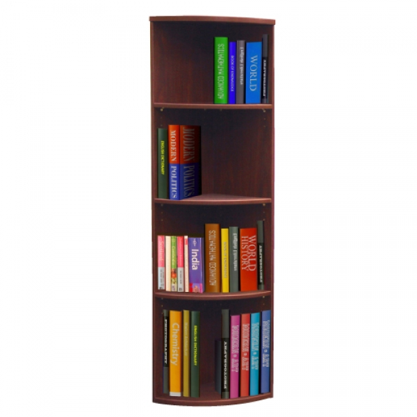 TC - 66 inch Curved Bookcase