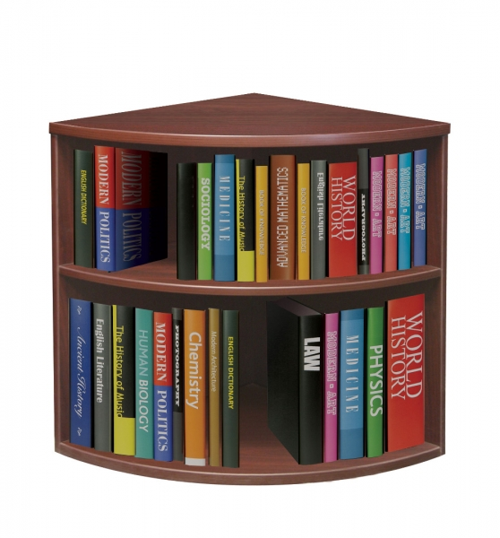 TC - Curved Bookcase (Floor)