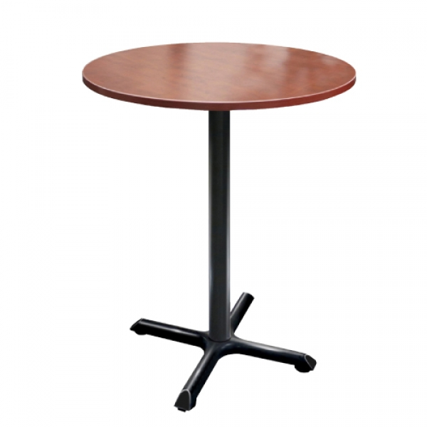 TIMELESS Round Meeting Table with Pole base 41""