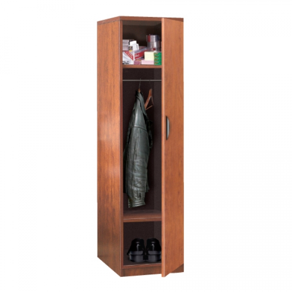 TC - Slim Storage Cabinet with Wood Door