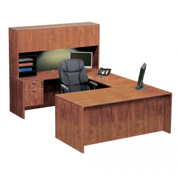 TIMELESS Executive Workstation with Hutch