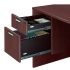 TIMELESS 71 inch Bullet Front Extended Workstation with Box File Pedestal