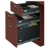 "TIMELESS 71"" Extended Bow Front Workstation with Box Box File Pedestal"
