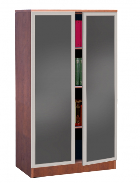TIMELESS Storage Cabinet with Glass Doors