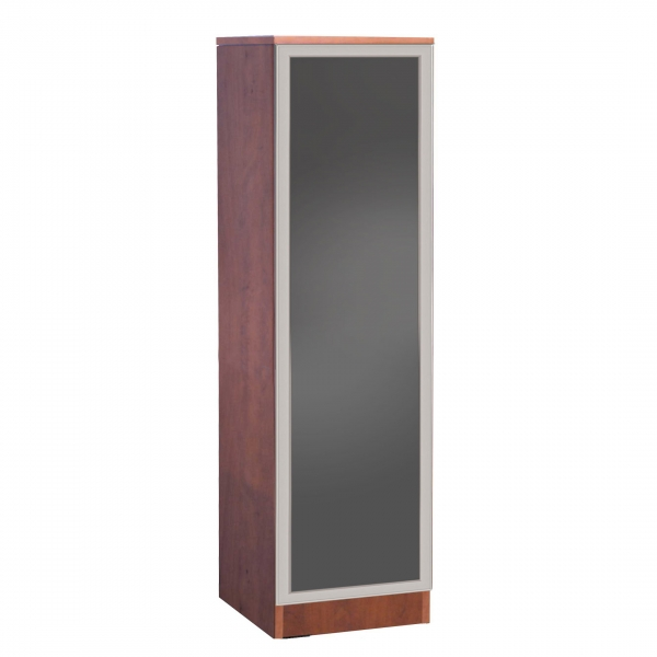 TIMELESS Slim Storage Cabinet with Glass Door