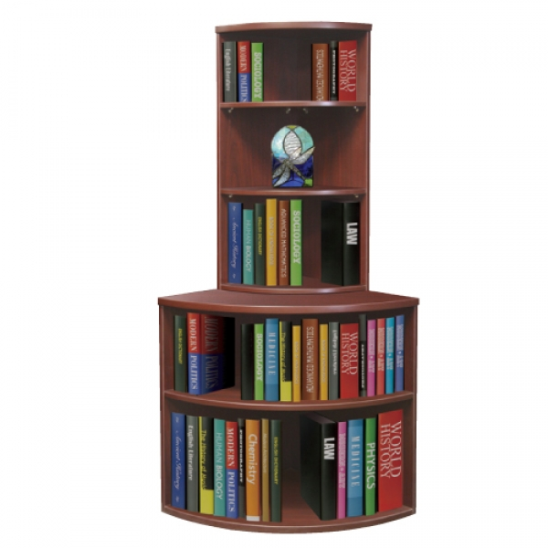 TIMELESS Curved Bookcase Set