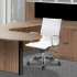 CONTEMPRA Mid-Back Executive/Conference Chair-White