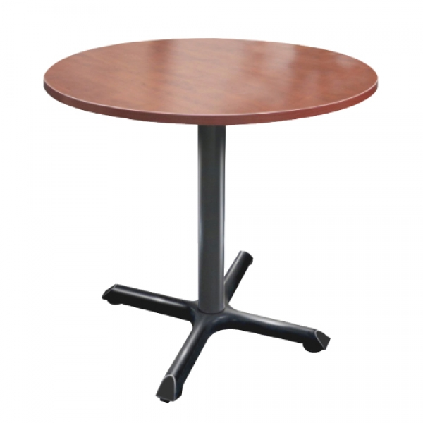 TIMELESS Round Meeting Table with Pole base 29""