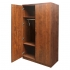 TIMELESS Storage Cabinet with Locking Wood Doors