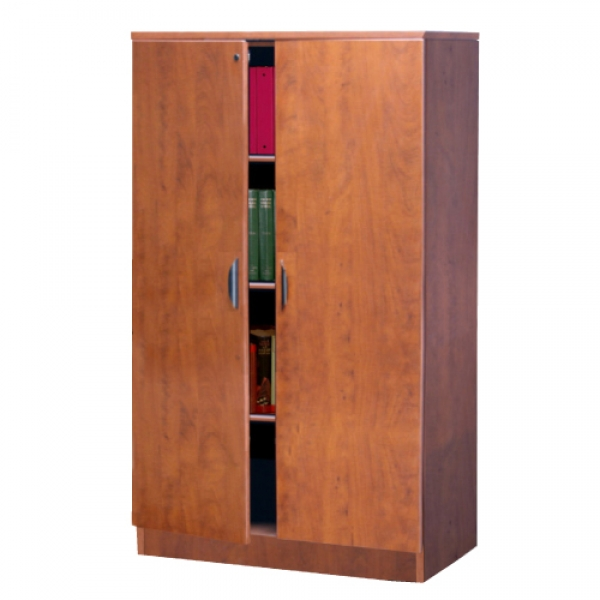 TC - Storage Cabinet with Locking Wood Doors