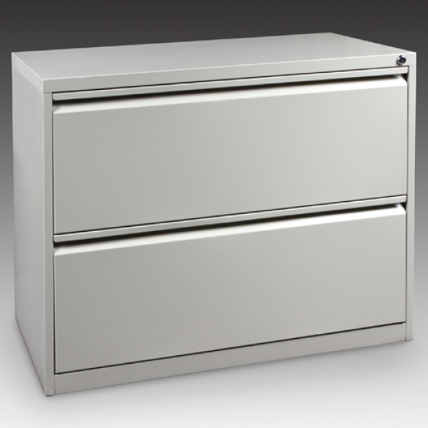 T900 Steel 2 Drawer Lateral File Cabinet