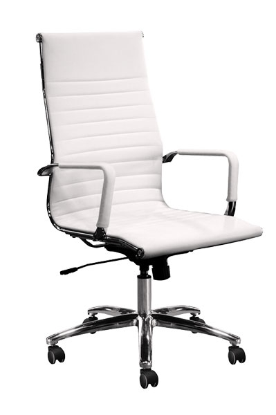 CONTEMPRA High-Back Executive/Conferencing Chair – White
