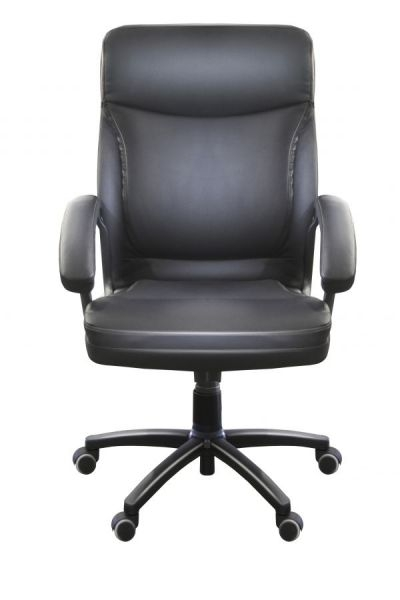 AMBROSIA Exec. high-back bonded leather-black