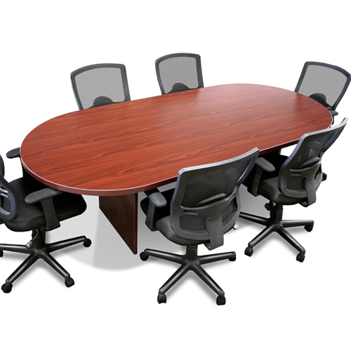 Timeless Ft Racetrack Conference Table - 8 ft conference table